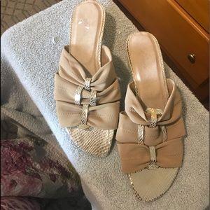 Ross gold sandals 12m